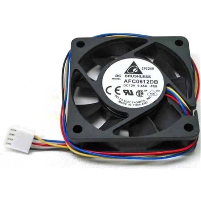 Ball Bearing Fan With Lock Motor Sensor Delta 23-1225-06 120 x 120 x 25 mm